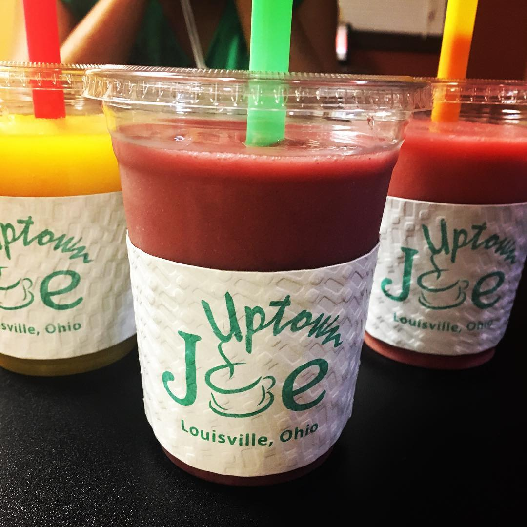 Smoothies and Iced Drinks at Uptown Joe